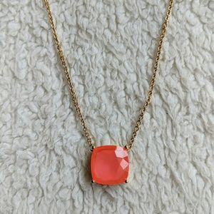 Kate Spade Coral Stone Necklace